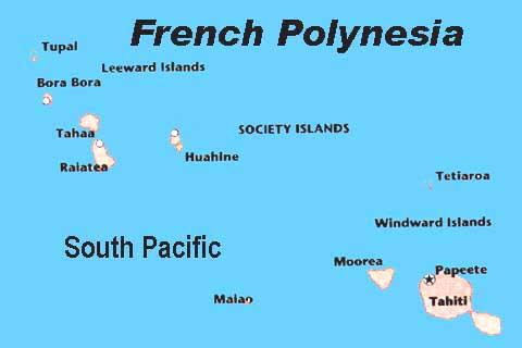 When You Go French Polynesia - French polynesia map