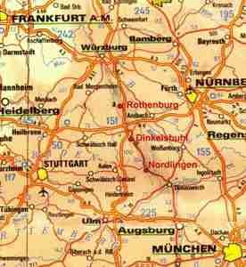 an excellent alternative to driving is to take the bus from frankfurt or munich a europabus tour starts each morning from both cities traveling the