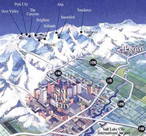 salt lake city ski map bnhspinecom