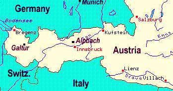 Plan Your Trip to Alpbach and Galtr Austria