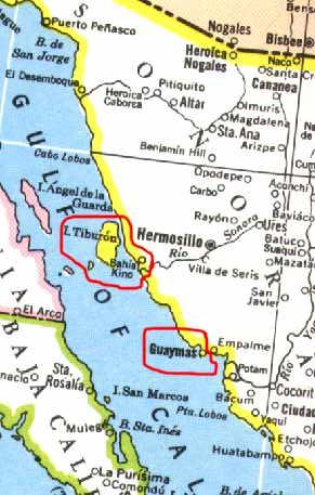 San Carlos Sonora Mexico Map.When You Go Sonora Coast Mexico