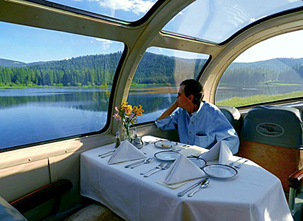 Dome Dining Car On The Silver Lariat