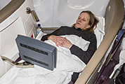 Virgin Atlantic upper class bed