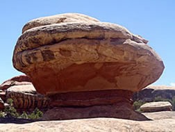 Canyonlands National Park balancing rock
