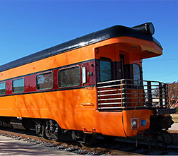 Wisconsin private railway car