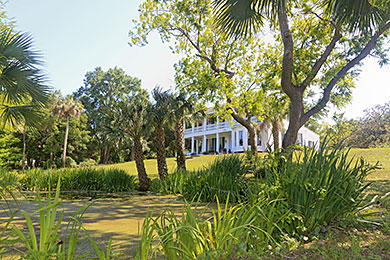 Orman House Historic Antebellum Southern Mansion That Is Now A State Park In Apalachicola Florida Overlooking The River